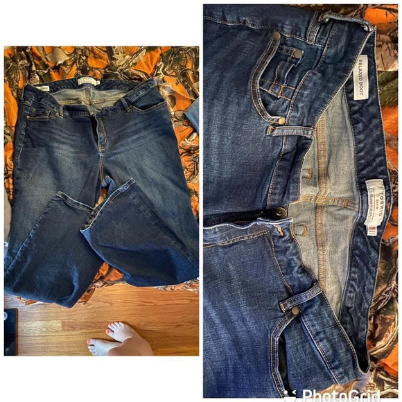 Torrid Jeans.